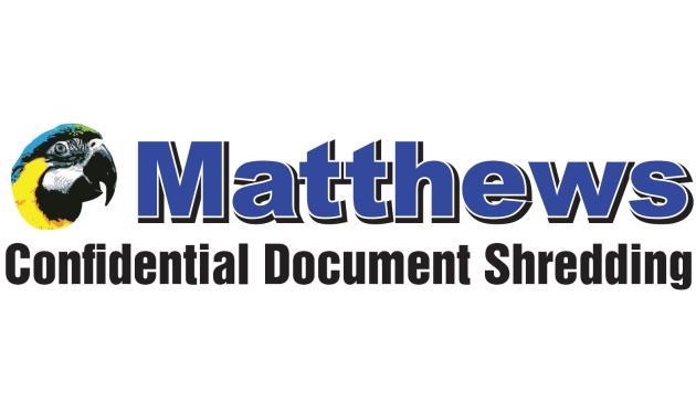 Matthews Confidential Shredding Logo